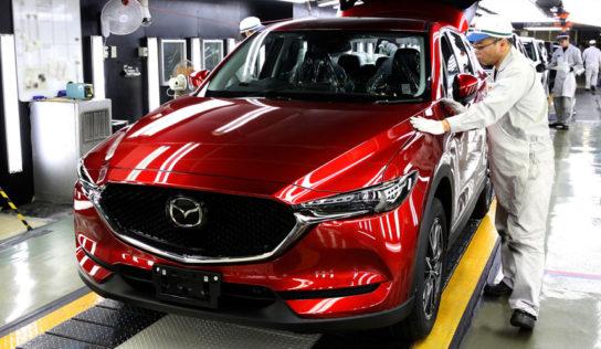выпуск Mazda CX 3