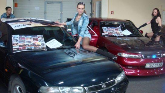 Mazda 626 GE, девушки