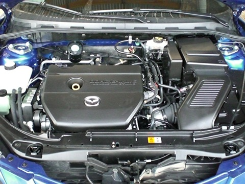 мазда двигатель