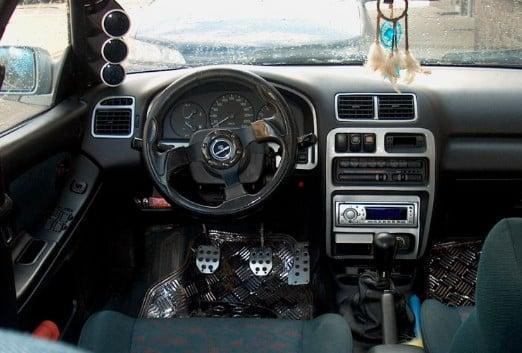 Mazda 323F BA тюнинг