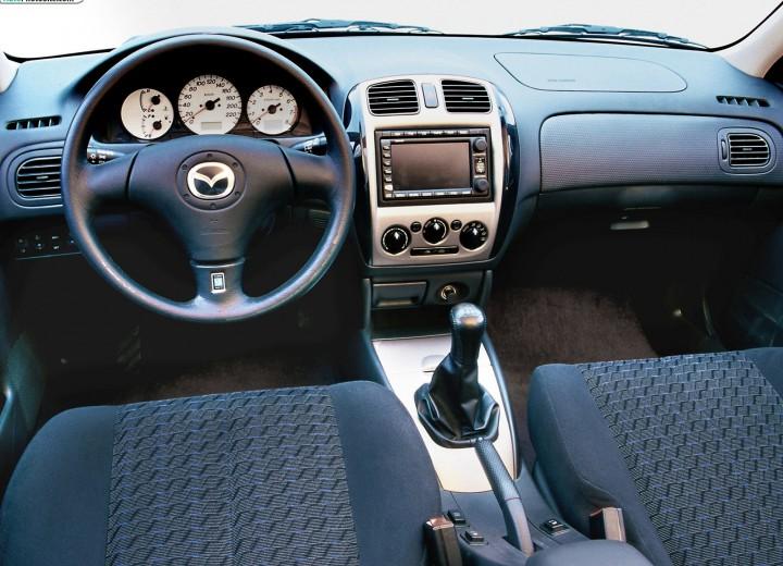 Mazda 323 расход