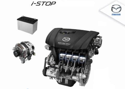 i-stop автомобиля Mazda CX-5