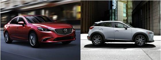 Mazda 6 и Mazda CX 5