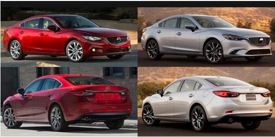 Mazda 6 и Mazda CX 5 сравнение