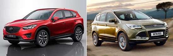 Mazda CX 5 vs NissanX-Trail