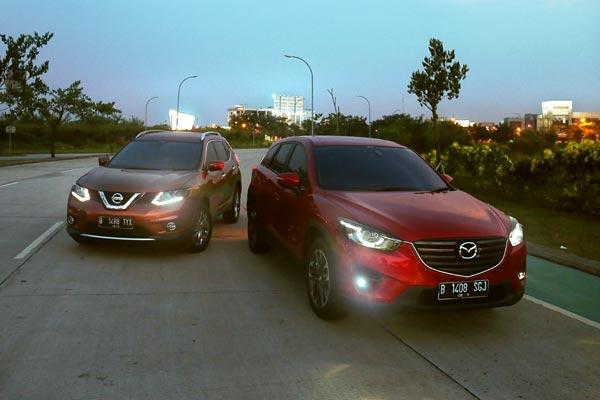 Mazda CX 5 и NissanX-Trail