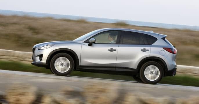 Mazda CX 5 белая