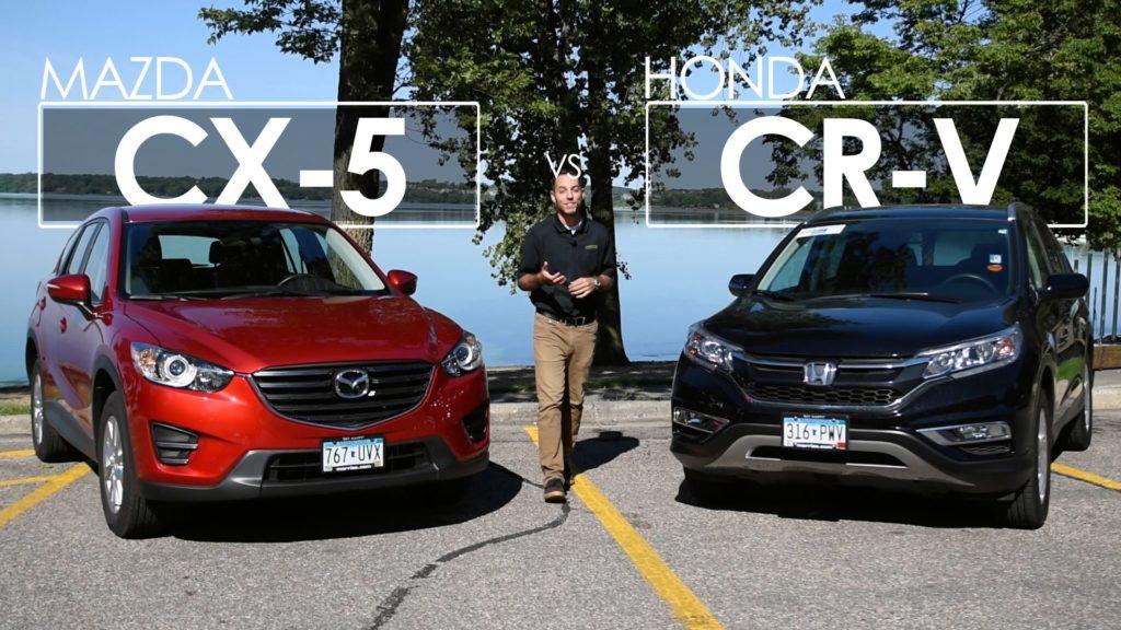 Mazda CX 5 или Honda CR V