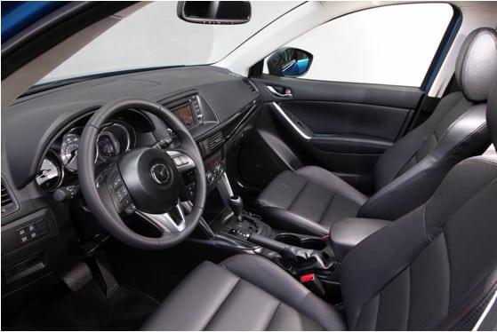 Интерьер Mazda CX 5