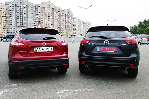 Nissan Qashqai или Mazda CX 5
