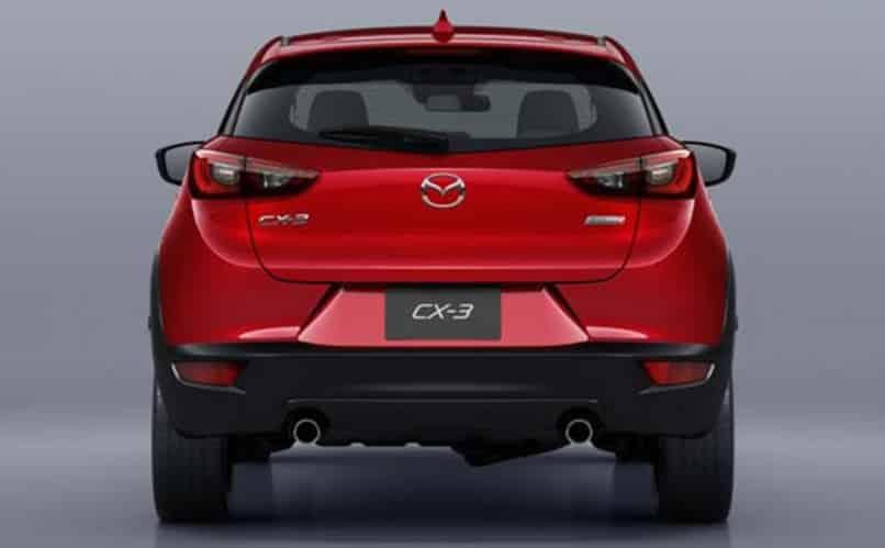 Мазда CX 3 красная