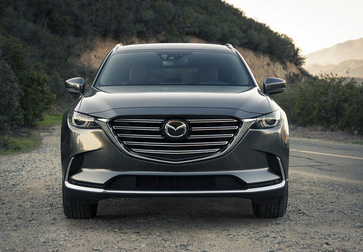 Mazda CX 9 вид спереди
