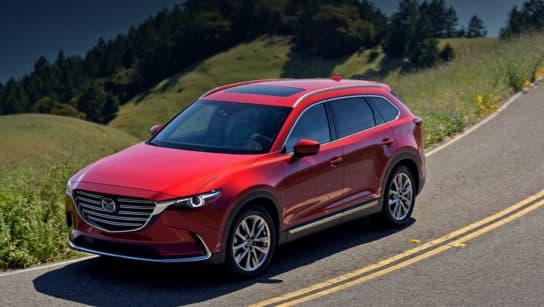 Тест драйв Mazda CX 9