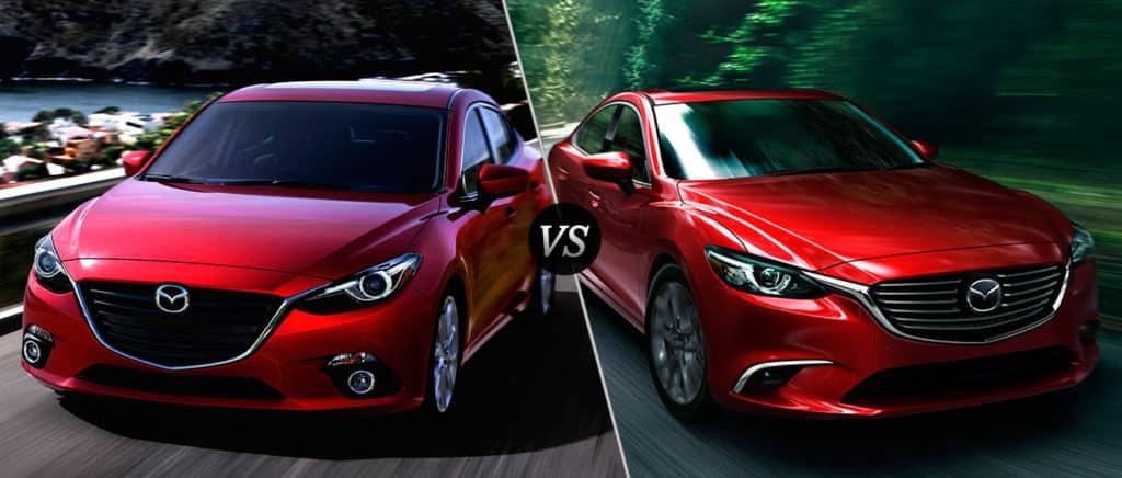 Mazda 3 vs Mazda 6