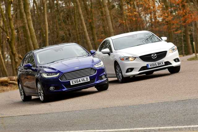 Сравнение Mazda 6 и Ford Mondeo