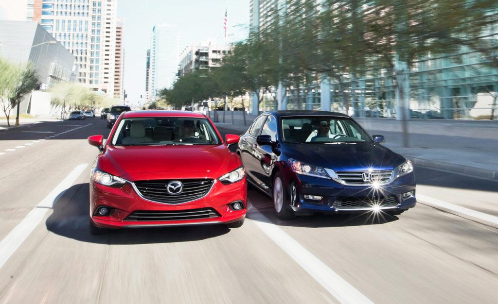Mazda 6 и Honda Accord