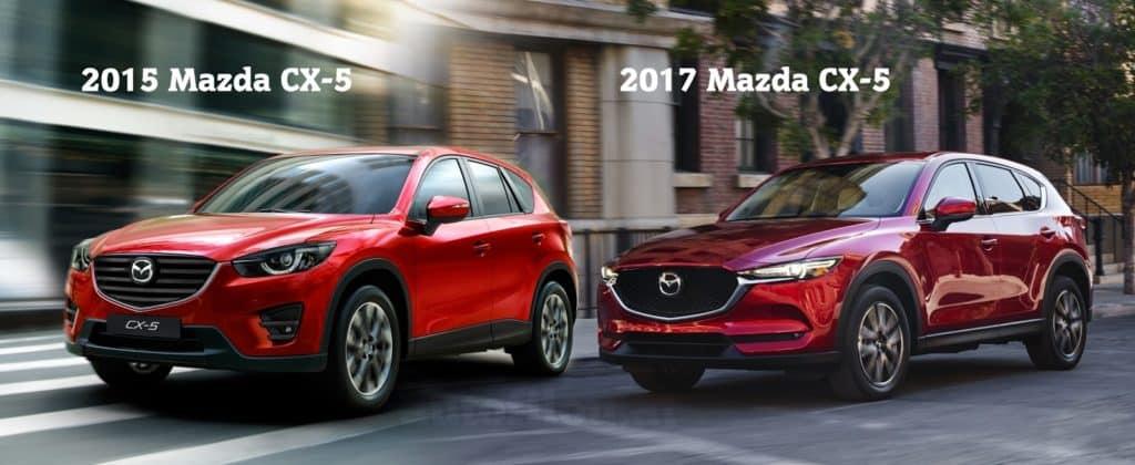 New Mazda CX 5