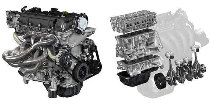 Двигатель Mazda SkyActiv-G 2.0