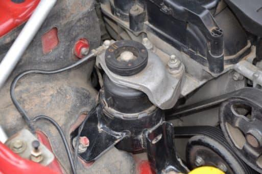 замена двигателя mazda 6