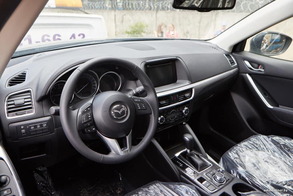 Сброс сервисного интервала Mazda CX 5