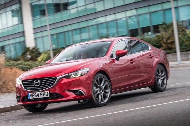 Экстерьер Mazda 6 2017