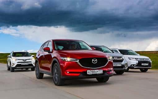 Mazda СХ 5 2017 тест