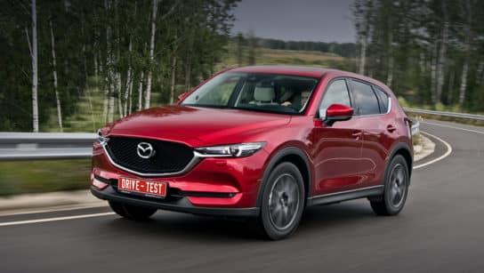 Объем бака Mazda CX 5