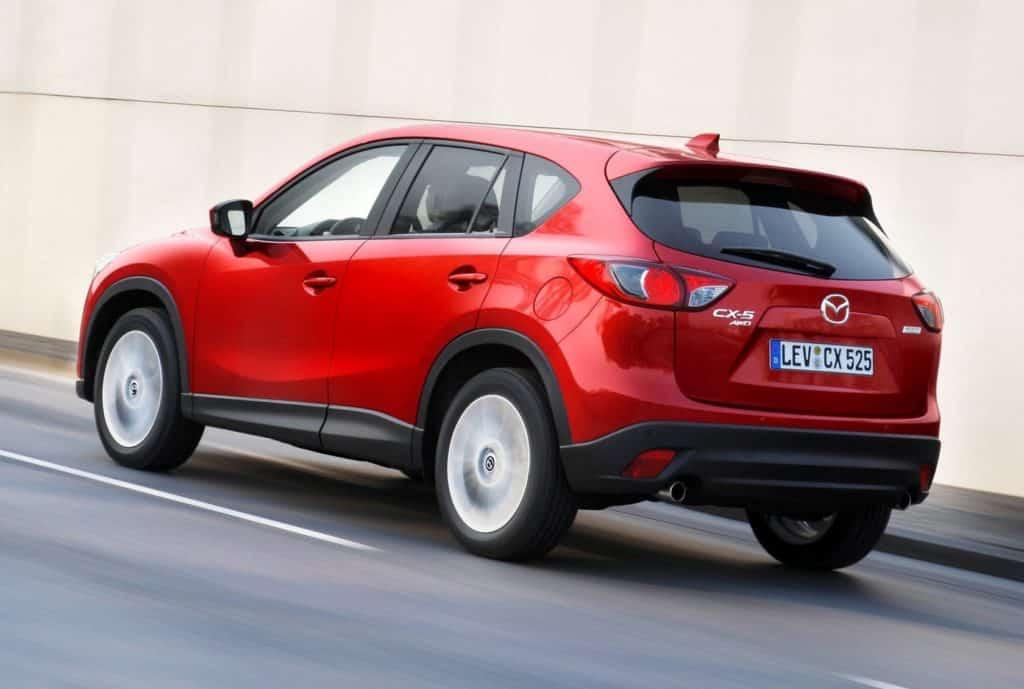 бак Mazda CX 5