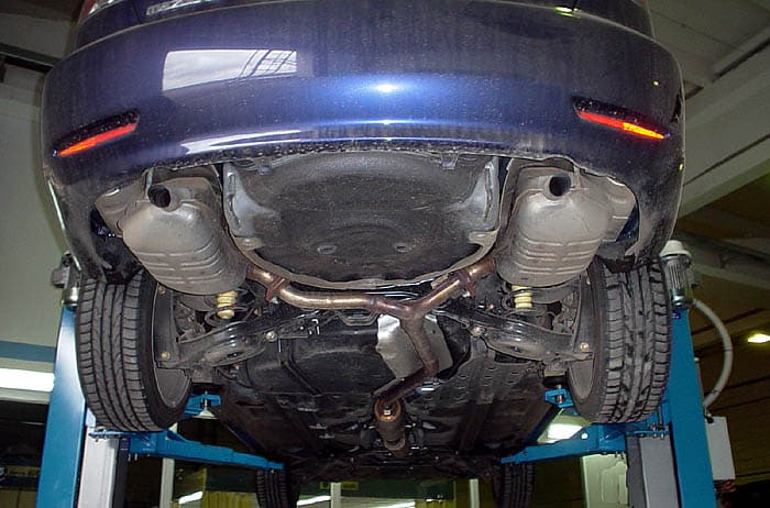 Задняя подвеска второго поколения Мазда 6