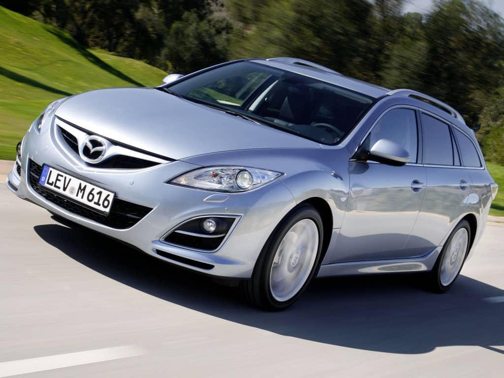 Разгон Mazda6 2010-2012