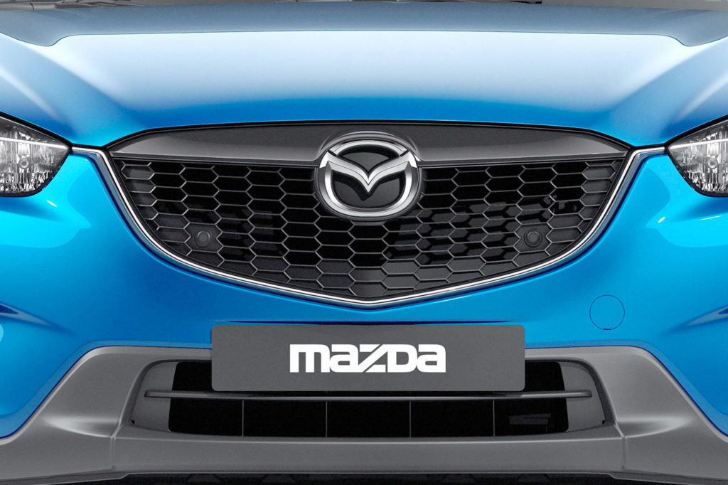 Монтаж защитной сетки радиатора на Mazda CX-5