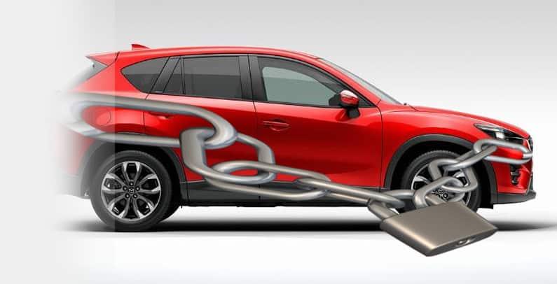 Mazda CX 5 угоняемость