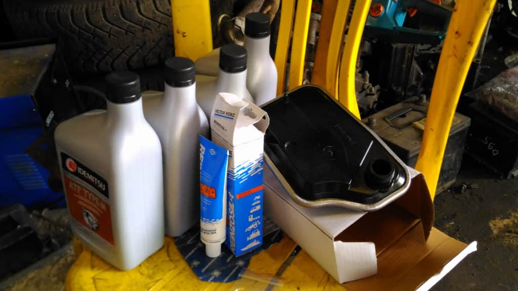 замена масла в АКПП Мазда 3