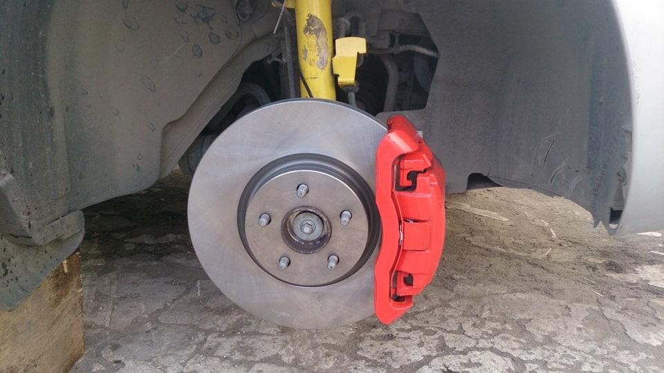 замена тормозных дисков на Мазда 3