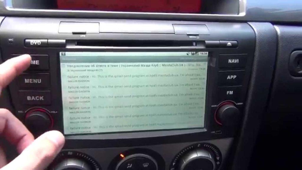 Магнитола Mazda 3 BL