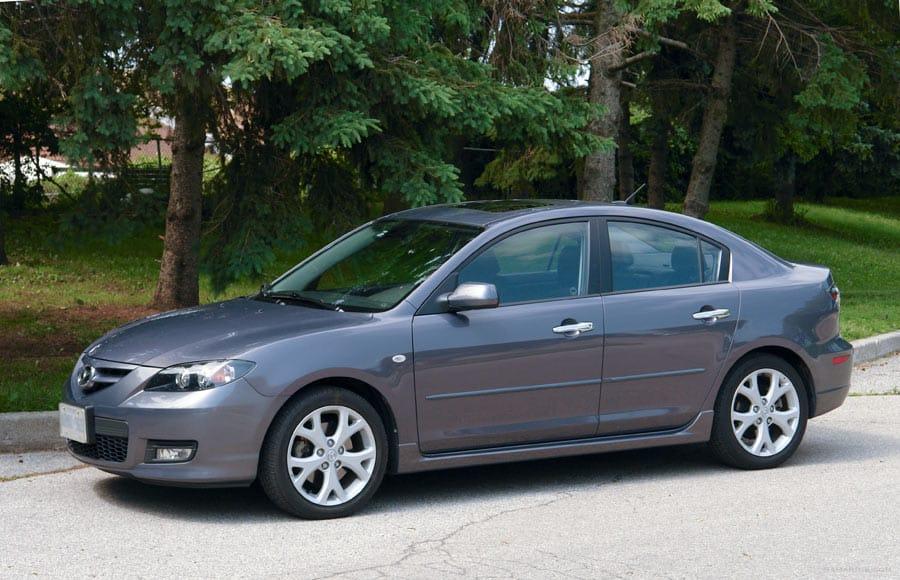 Габариты Mazda 3