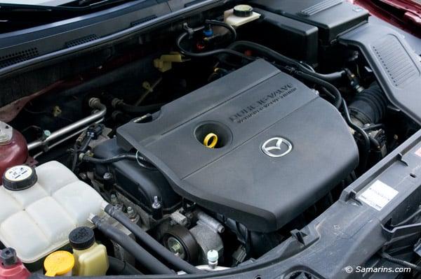 Mazda 3 двигатель