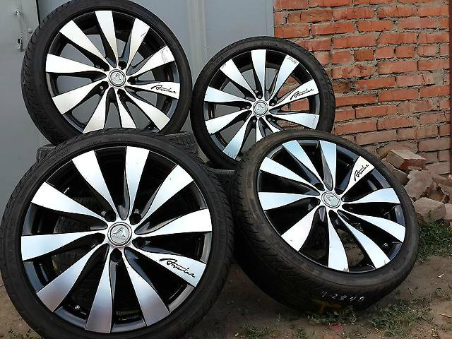 Размеры нестандартных колес