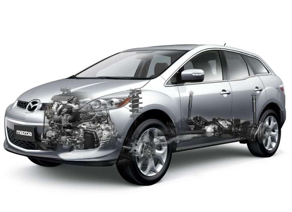 двигатель на Mazda CX-7