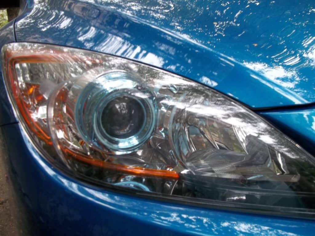 линзы на Mazda 3