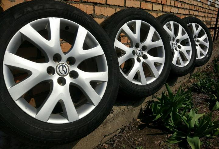 Штатный размер колес