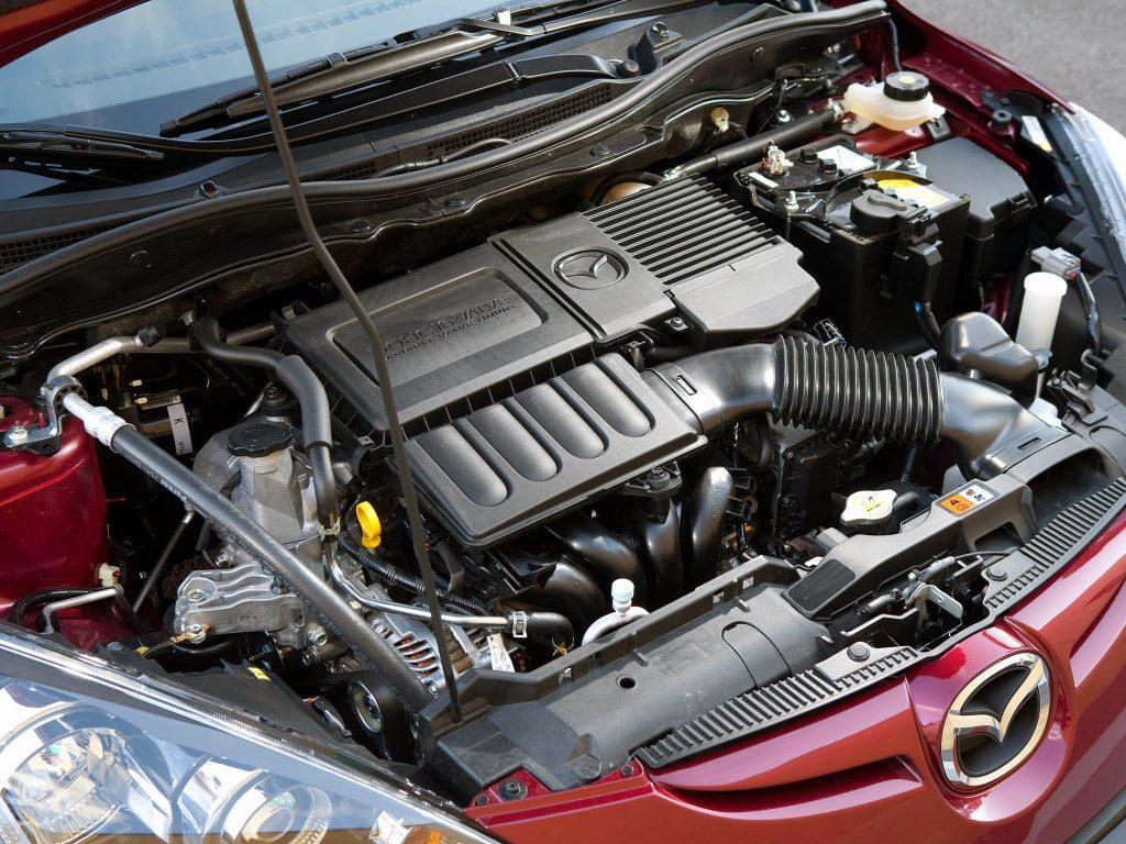 Ремонт двигателя Мазда 2