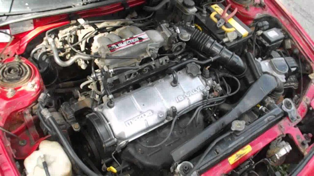 Двигатель на Мазда 323