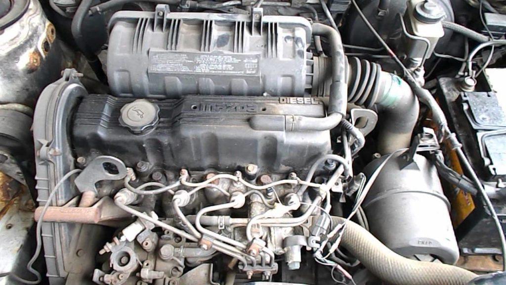 Двигатель Мазда 323