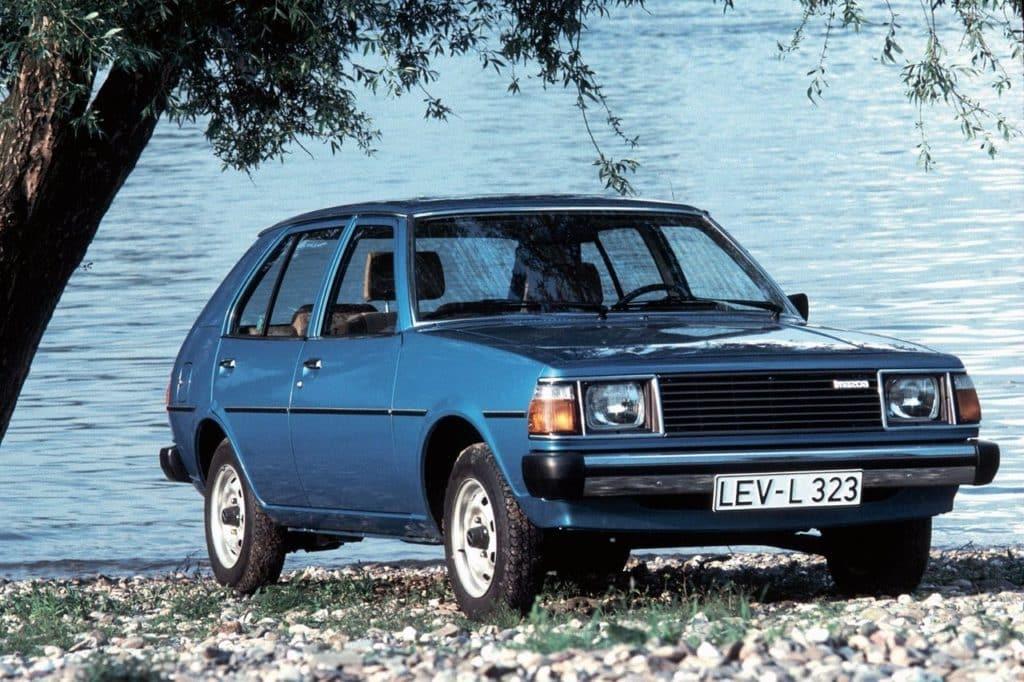 Мазда 323 I (FA) 1977-1986