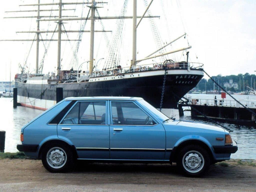 Мазда 323 II (BD) 1980-1986