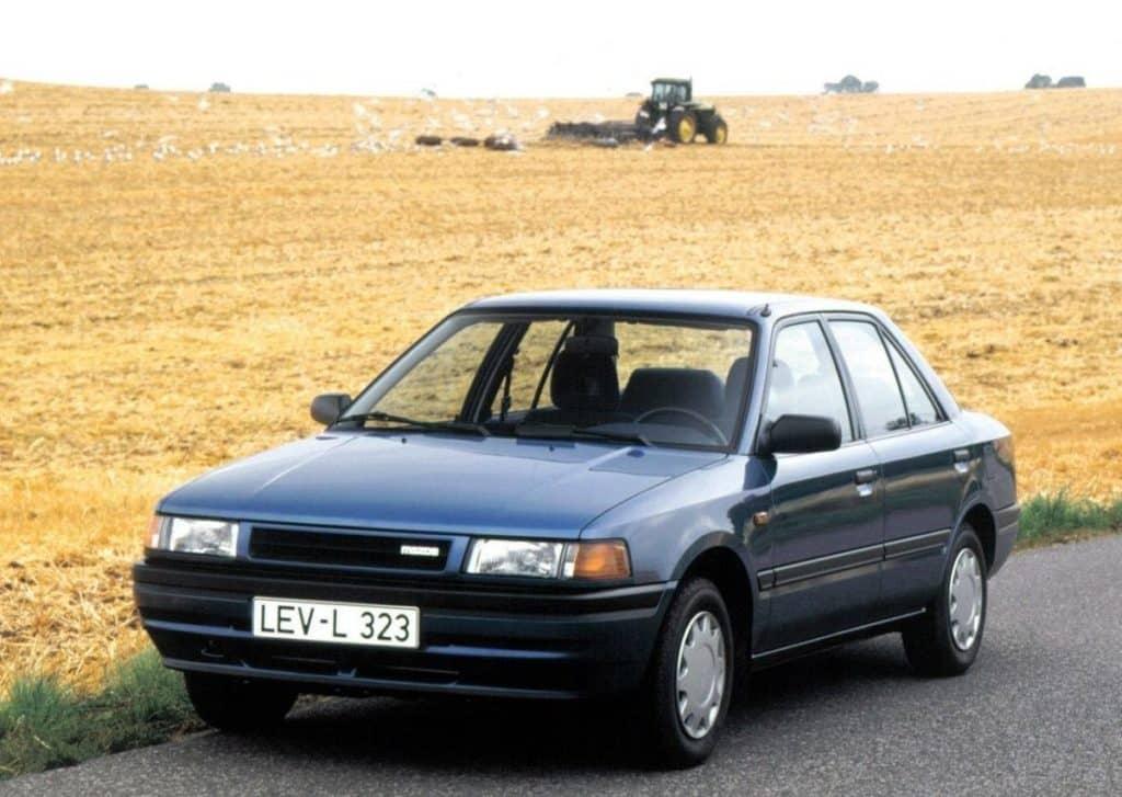 Мазда 323 IV (BG) 1989-1995