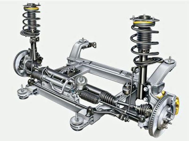 задние пружины на Mazda 626 GE