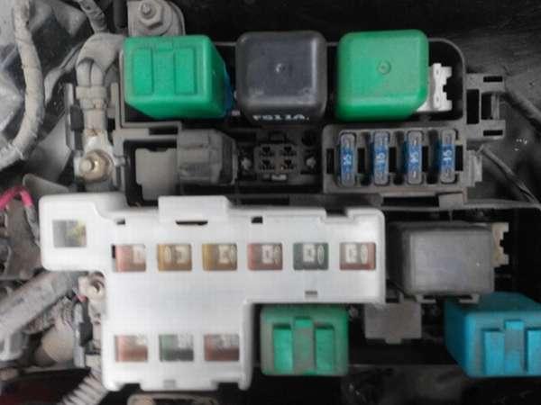 Электросхема на Мазда 626