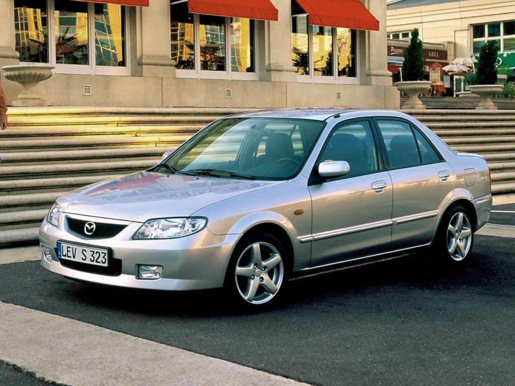 Mazda 323 VI (BJ) рестайлинг 2000 - 2003